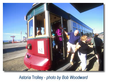 Astoria Trolley (link to more photos)